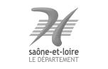 Département de Saône-et-Loire, partenaire des Rendez-vous de Bourbon-Lancy